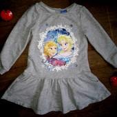 Платье Анна и Эльза на 3-4года(98-104см)!!!Фрозен.