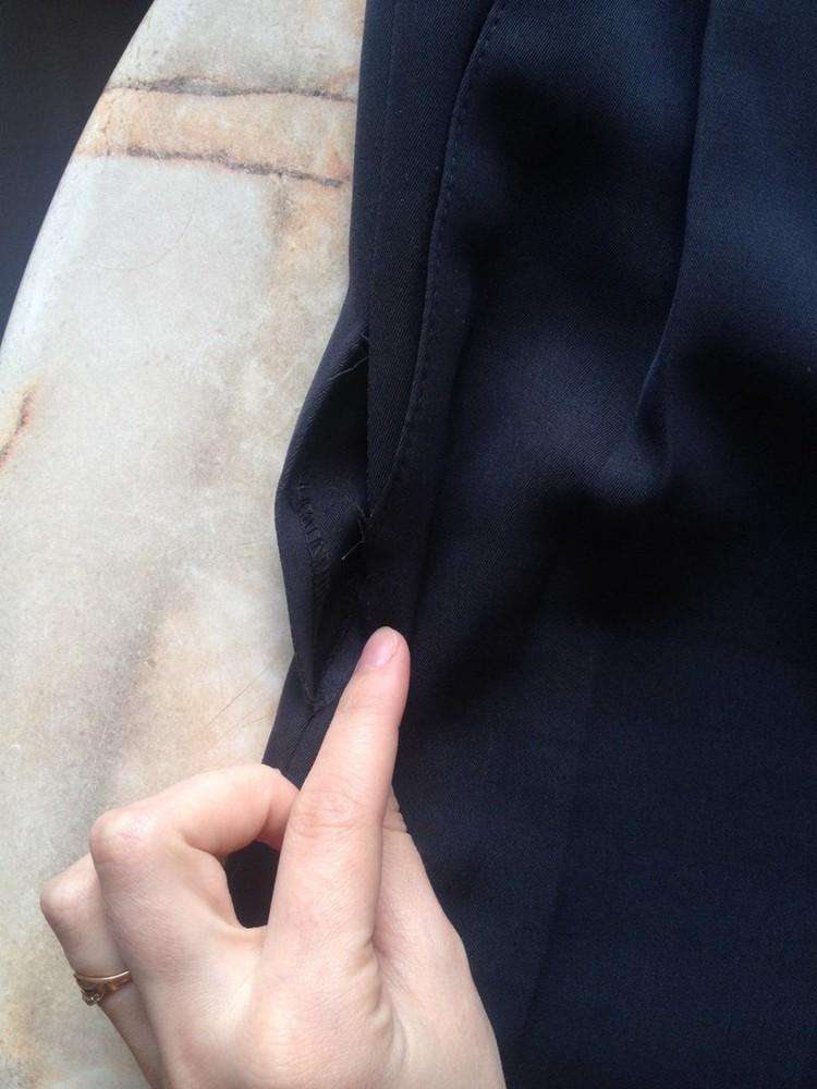 Классические мужски брюки размер примерно 50-52 (ориентируйтесь на замеры в объявлении) фото №2
