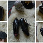 Стильные женские туфли-оксфорды р-р 38
