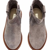 ботинки замша  H&M