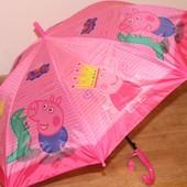 Детские зонтики с любимой Пеппой)