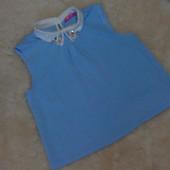 Нарядная голубенькая блузочка Young Dimensions на девочку 12-13 лет