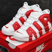 Кроссовки Nike Air More Uptempo 96 white/red