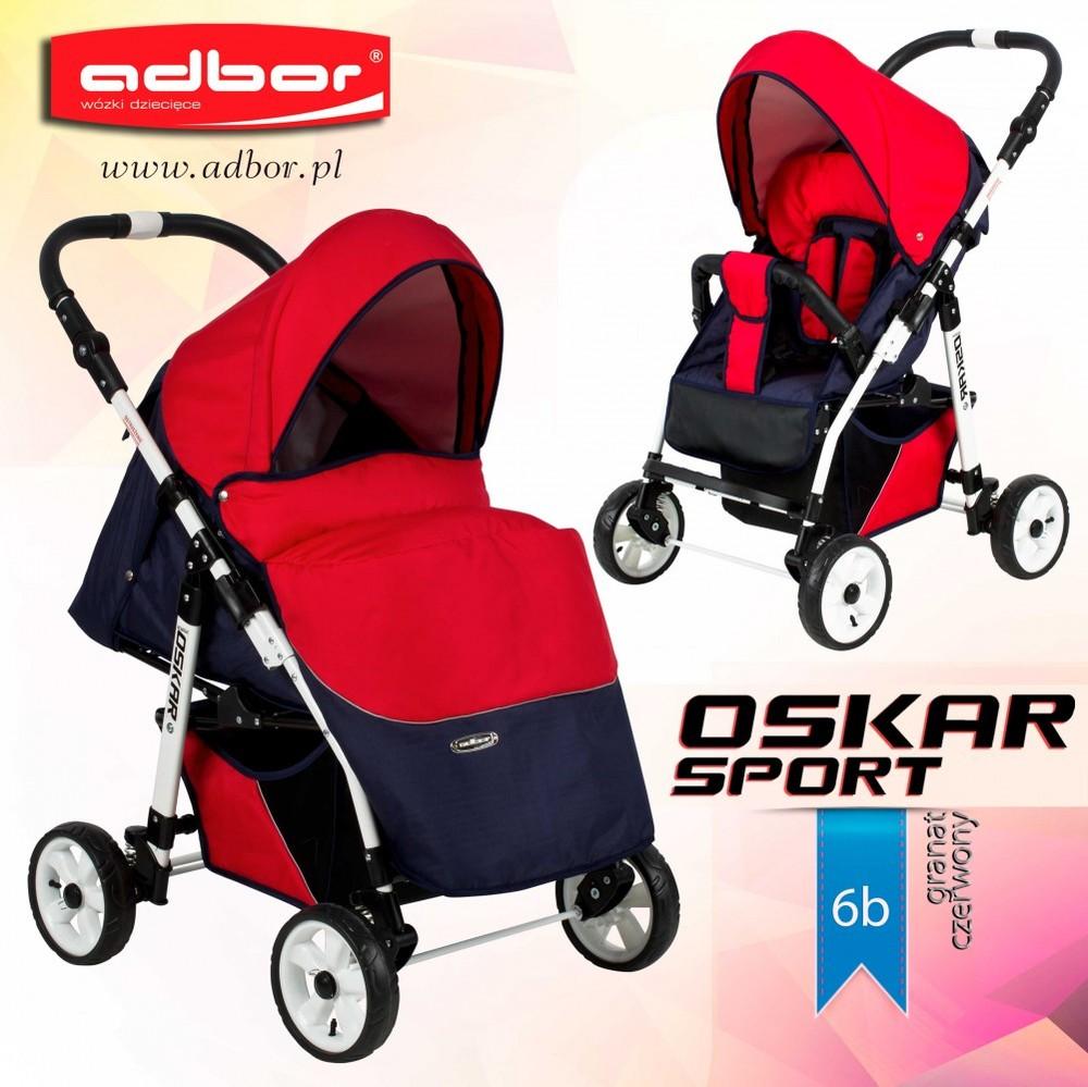 Детская прогулочная коляска Adbor Oskar Sport Standart фото №1