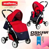 Детская прогулочная коляска Adbor Oskar Sport Standart