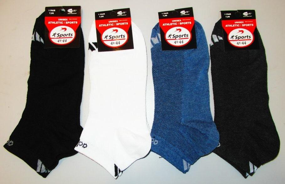 Носки мужские сетка 4 пары 41-44 раз спортивные фото №1
