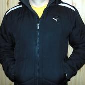 Фирменная оригинал курточка осень-весна  євро зима бренд Puma л