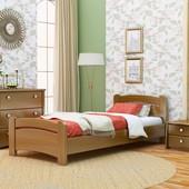 Кровать односпальная деревянная Венеция