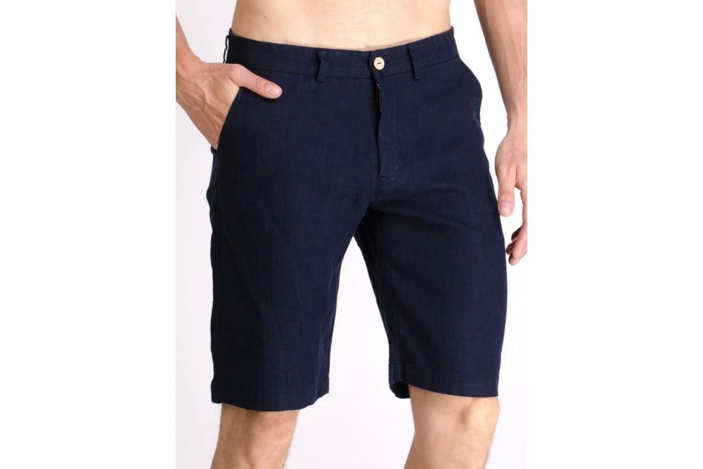 Льняные шорты мужские 46,48,50,52 (2с фото №1