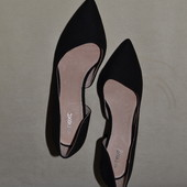 сток Большой выбор обуви разных размеров и фасонов туфли лодочки кожа 100%