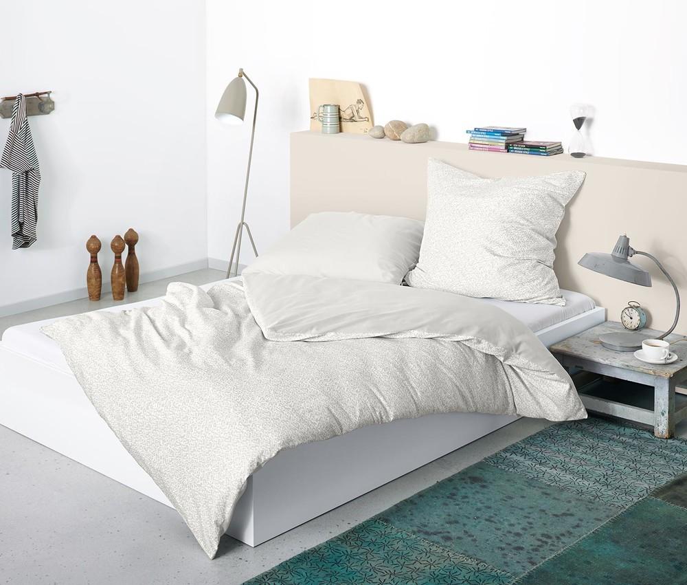 Отличный двухсторонний постельный комплект тсм tchibo. 140х200 фото №1