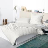 Отличный двухсторонний постельный комплект Тсм Tchibo. 140х200