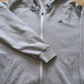 Кофта с капюшоном фирменная Adidas р.50Xl