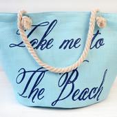 Яркие пляжные сумки,расцветки,принт надпись