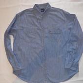 Джинсовая рубашка XXL размер,50-52 размер,(замеры)от Gap