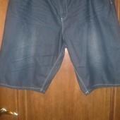 Шорты джинсовые фирменные очень большого р.W48 оригинал KamJeans