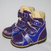 Ортопедические демисезонные ботинки размер 24 Орто+