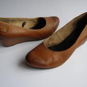 Кожаные туфли Jana, р.39 – 25,5см.