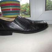 Кожаные туфли Bugatti 44 р