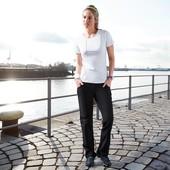 Акция 270 грн! брюки софтшел, черный, евро р-р 34 и 38, tcm, tchibo, Германия