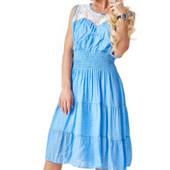 Оличное хлопковое платье