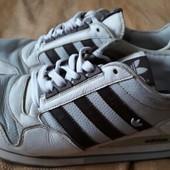 Кожаные кроссовки Adidas zx500 оригинал р.44-28.5см.