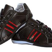 Современные мужские летние кроссовки с перфорацией (КТ-24ч)