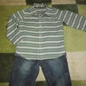 Стильная рубашка Nutmeg на 3-4 года
