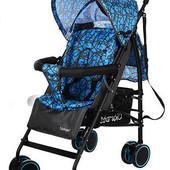 Коляска детская прогулочная M 3430-2 голубая***