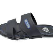 Шлепанцы мужские Nike ТН синие (реплика)