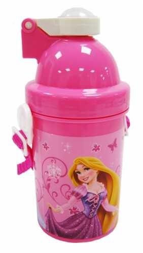 Бутылочка, поилка для воды с трубочкой для девочки дисней принцессы фото №1