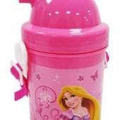 Бутылочка, поилка для воды с трубочкой для девочки
