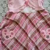 Нарядное платье на девочку 5-8 лет
