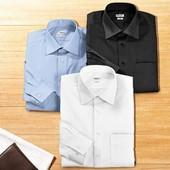 Белая рубашка бизнес стиль хлопок р.3XL Lidl Германия