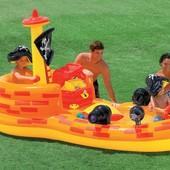 Игровой центр Пиратский корабль Intex 57457
