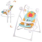 Кресло-качели Bambi 2 в 1 M 1540-04