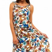 Размеры 42-48 Элегантное длинное женское платье