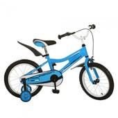Детский велосипед Profi - 16 дюймов голубой