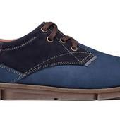 Туфли Мужские Кожаные (123крс)