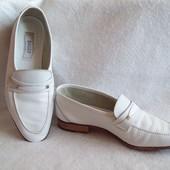 Туфли Свадьба Кожа Италия, стелька 26 см.