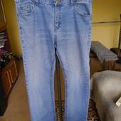 Джинси великі та довгі розмір 38/32 Basic Jeans