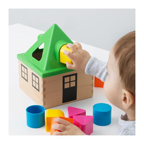 Развивающая коробка для головоломок mula от икеа отличный подарок ikea в наличии! фото №1