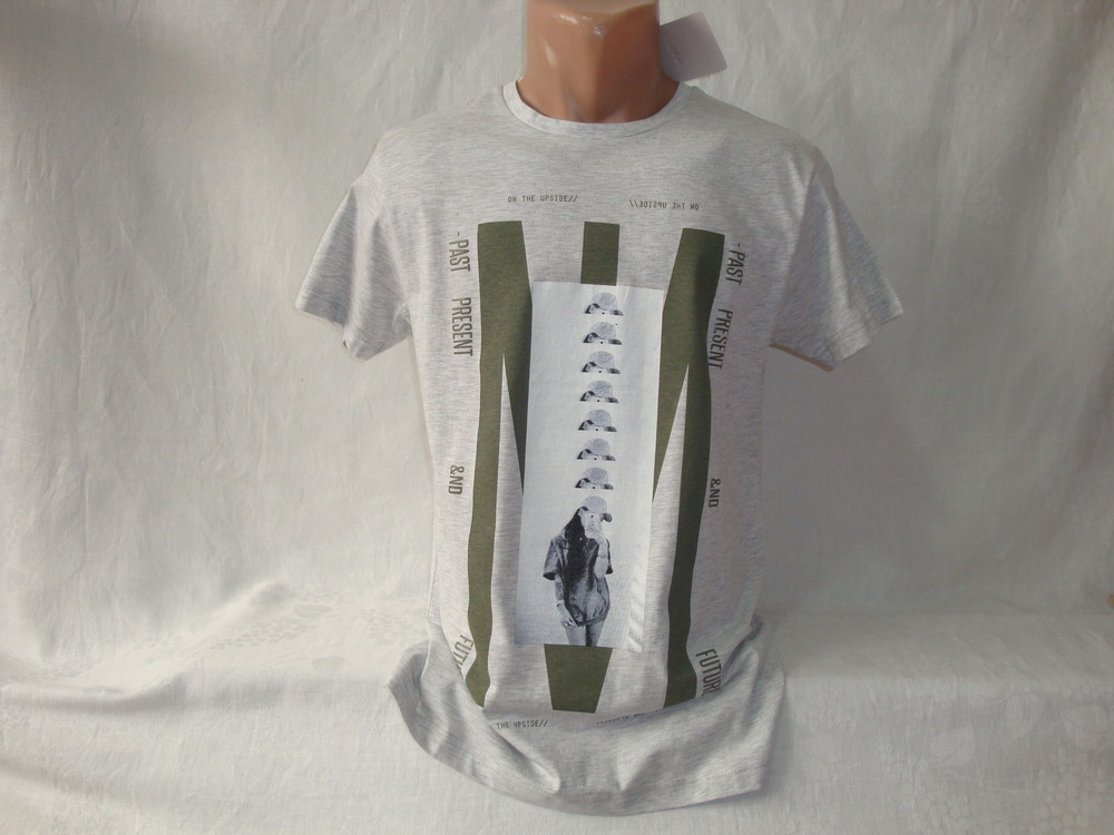 Мужская футболка Piazza Italia. Разные цвета и модели. фото №1