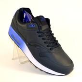 Синие мужские непромокающие кроссовки