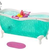 Barbie игровой набор веселое купание ванная для Барби аксессуар DXR91_dxr93 bath fun playset