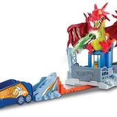 Трек хот вилс Hot Wheels Dragon Blast Playset