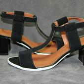 Новинка стильные кожаные босоножки код:ИН 6015-010