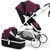 Универсальная коляска 2в1 M-Go Romantic purple Babysing Франция сиреневый 12122826