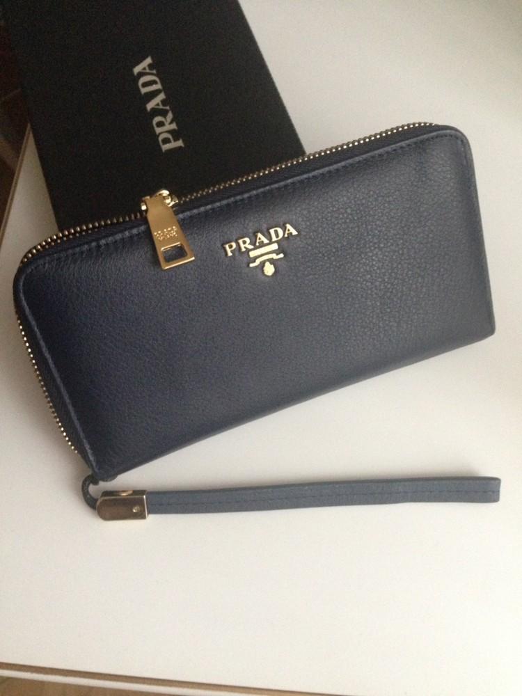 f1f821694e8b женский кошелек Prada натуральная телячья кожа в наличии цена 1300