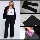 New look.новые.большой размер.черный брюки.
